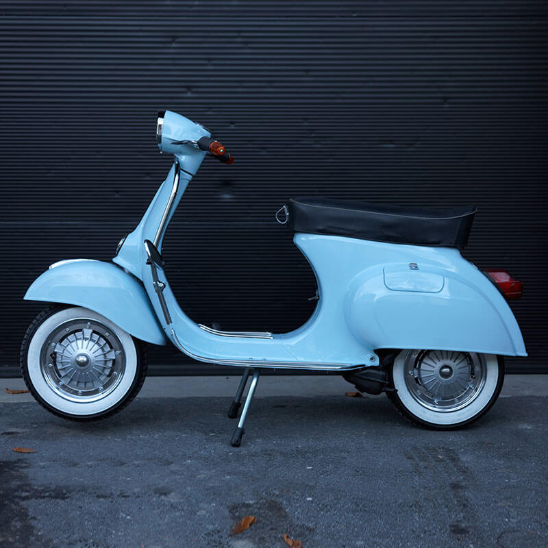 #32 Vespa Primavera 125 - Vollrestauration