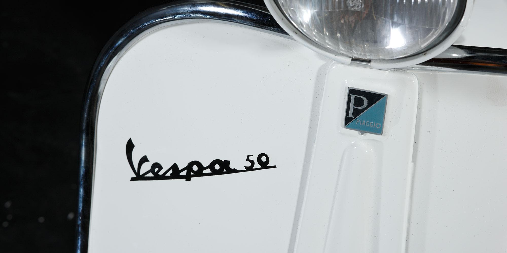Vespa V50 special - Restauration